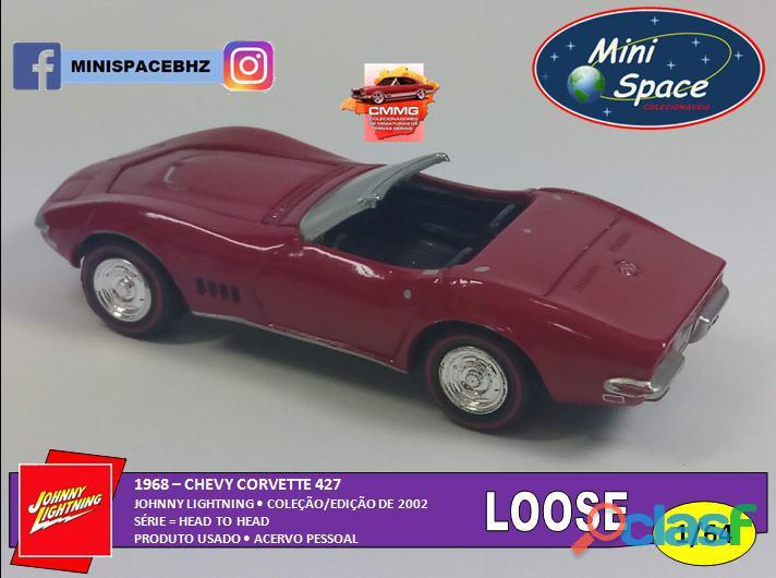 Johnny Lightning 1968 Chevy Corvette 1/64   Loose 7