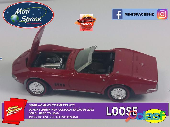 Johnny Lightning 1968 Chevy Corvette 1/64   Loose 4