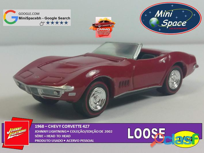 Johnny Lightning 1968 Chevy Corvette 1/64   Loose 3