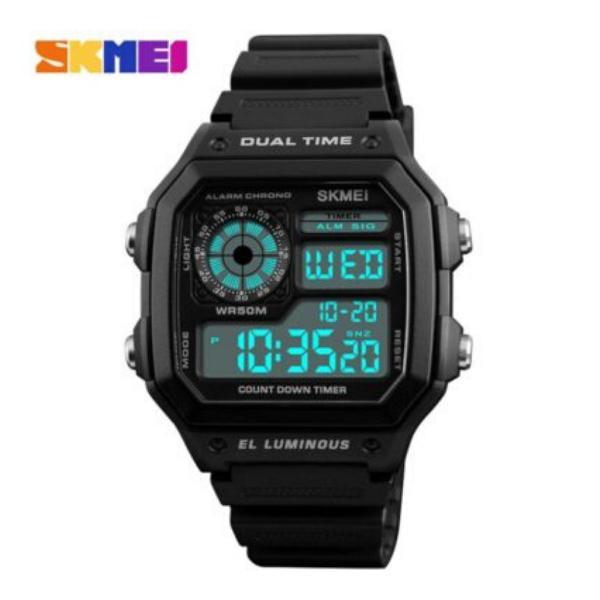 Relógio masculino digital c/ caixa para presente