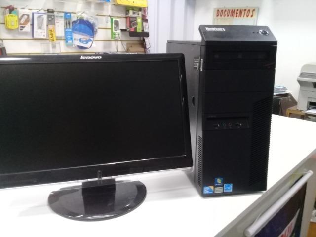 Computador i5 lenovo com monitor 19, excelente para uso