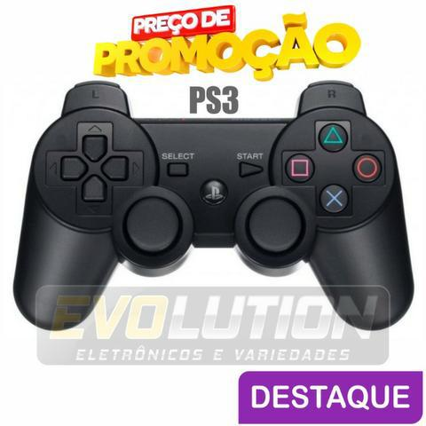 Controle ps3 sem fio ps3 dualshock playstation 3 joypad
