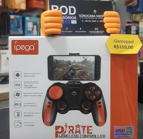 Controle bluetooth para jogos / gamepad wireless