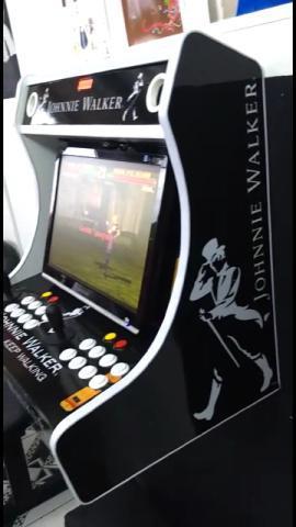 Fliperama arcade / com suporte para pendurar e temporizador