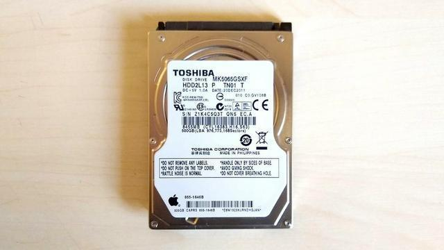 Hd 500gb notebook sata