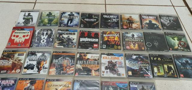 Jogos de ps3 playstation 3 ou trco por outros itens
