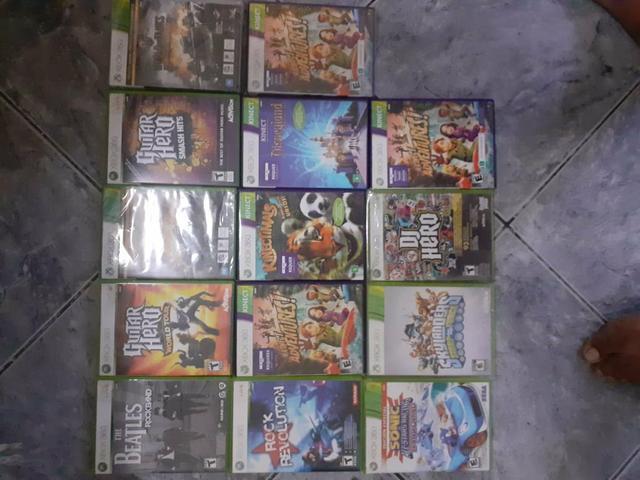 Lote de jogos xbox 360