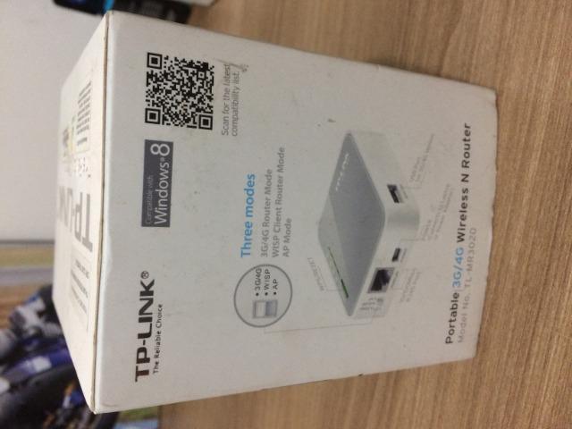 Mini roteador 3/4g wireless portatil tp-link tl-mr 3020