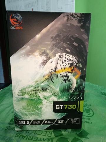 Placa de vídeo gt 730 2gb gddr5 semi nova
