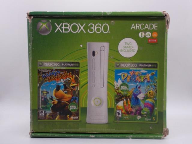 Xbox 360 fat 120gb + 5 jogos