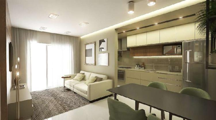 Apartamento a venda com 2 quartos e 1 suite no bairro