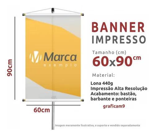 Banner personalizado faixa 60 x 90