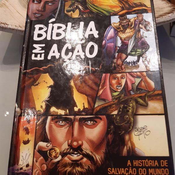 Bíblia em ação. a história de salvação do mundo.