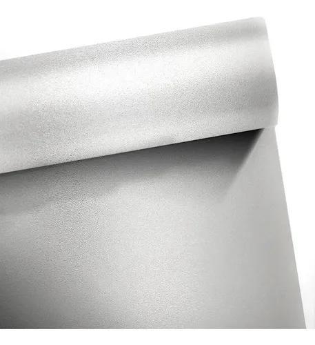 Faixa adesivo jateado p/ portas vidro cristal 0,10 x 5,00m