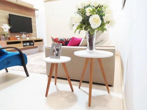 Kit de mesa redonda tripé mesas pé palito enfeite