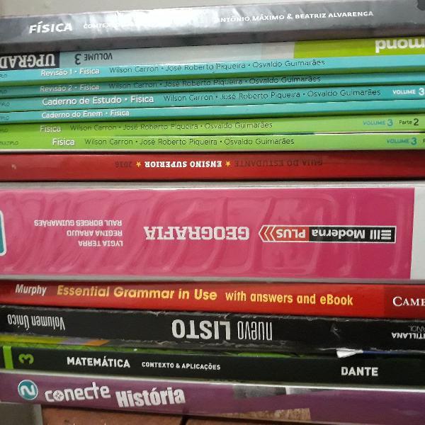 Livros didáticos | história | geografia | física |