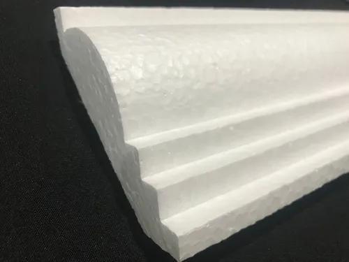 Moldura de isopor 10 cm de face - kit 10 metros promoção