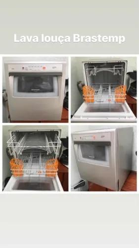 Máquina de lavar louça - 8 serviços - brast