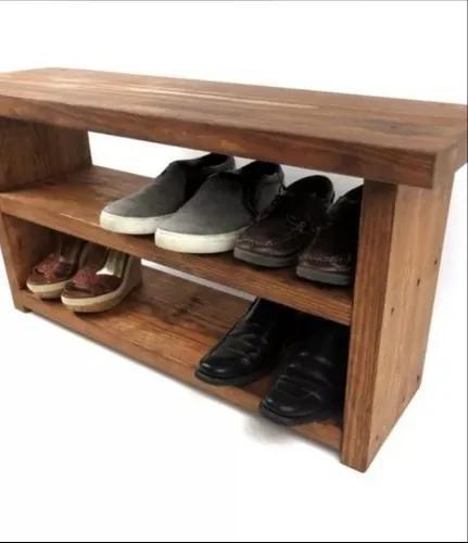 Sapateira banco de madeira maciça porta calçados