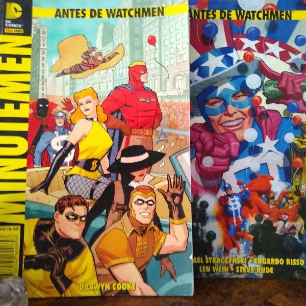 Antes de watchmen - dc comics