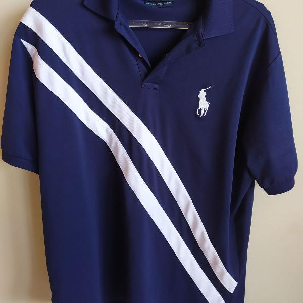 Camisa polo ralph lauren azul