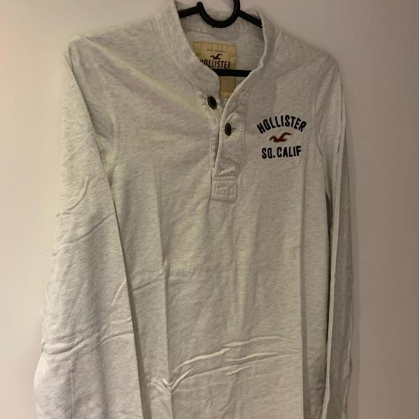 Camiseta hollister manga comprida