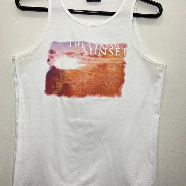 Camiseta regata classic sunset