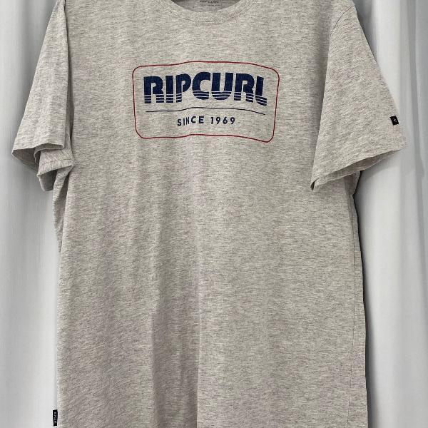 Camiseta rip curl bege