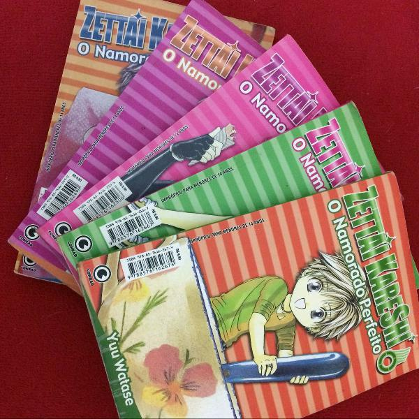 Coleção mangá zettai kareshi (vol. 1 ao 5)