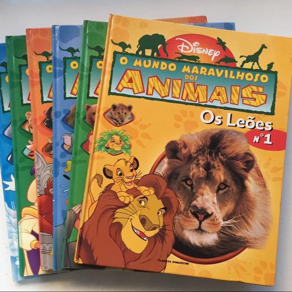 Coleção o mundo maravilhoso dos animais