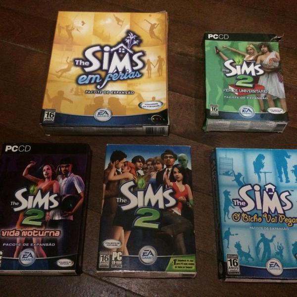 Jogos de pc originais. the sims 2 expansoes the sims