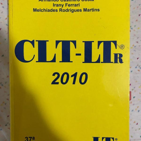 Livro clt edicao 2010