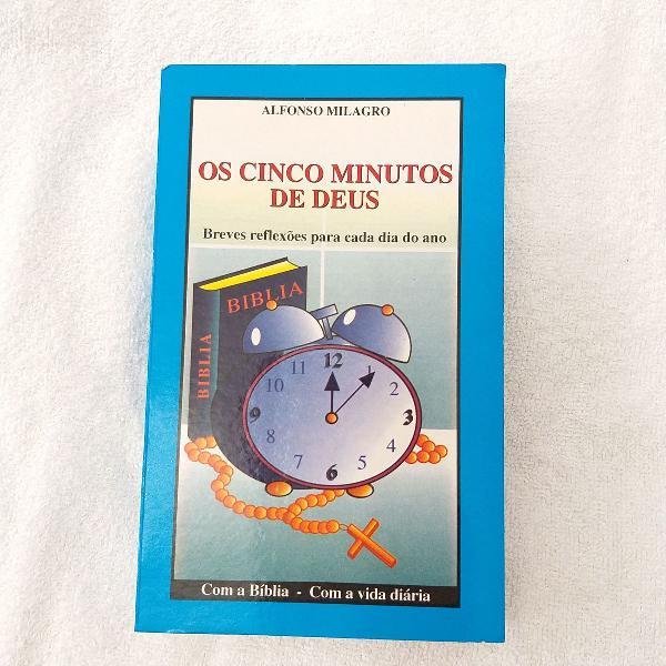 livro os cinco minutos de deus