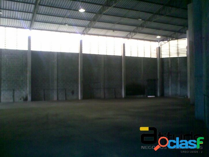 Galpão de 900 m² para locação chácara marcos barueri