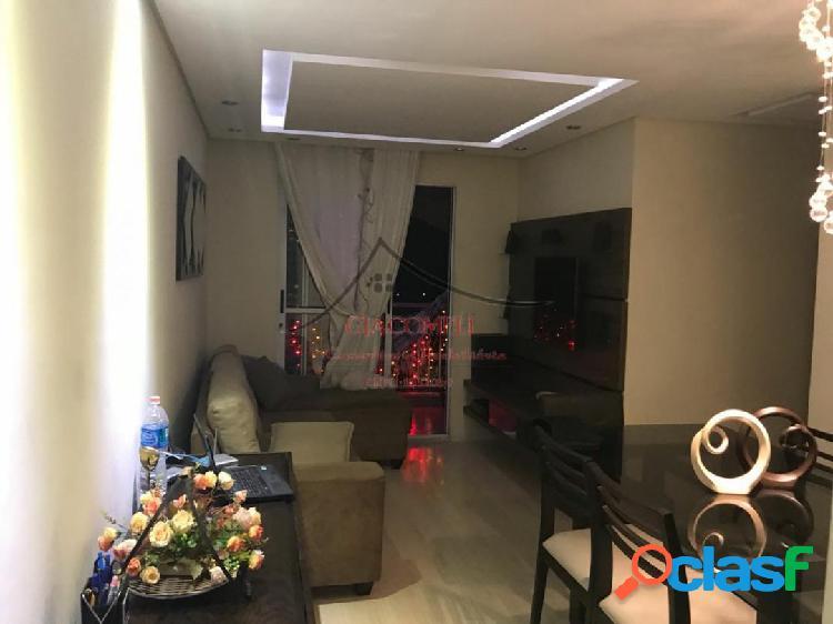 Apartamento no condomínio mérito aricanduva- nove de julho