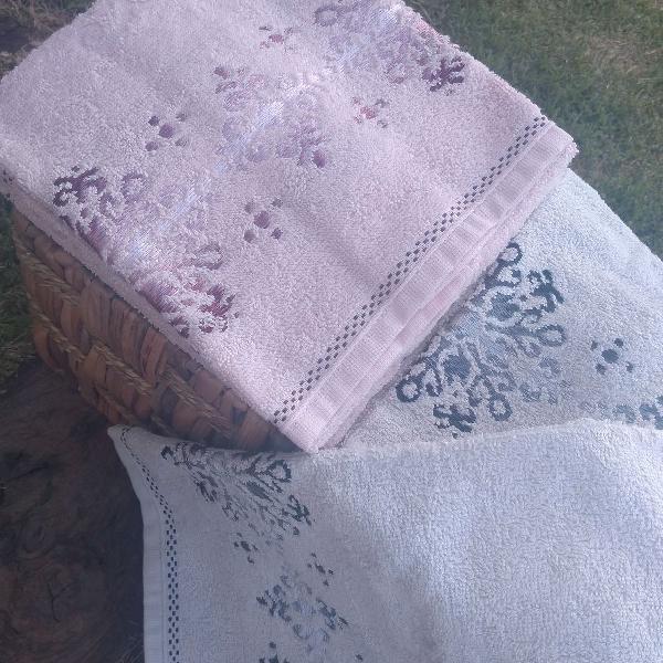 4 toalhas karsten