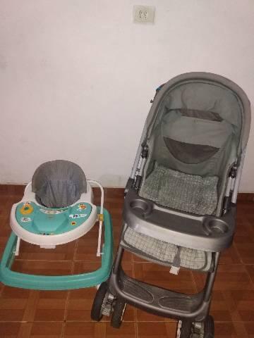 Andaja mais carrinho de bebê