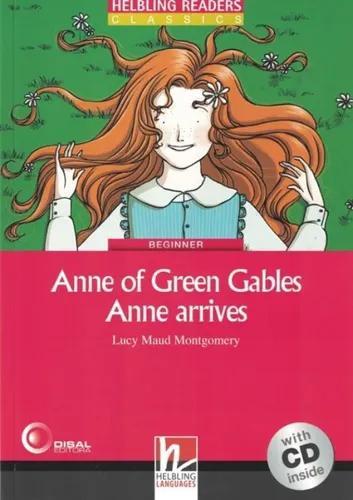 Anne of green gables - anne arrives - with cd - beginner
