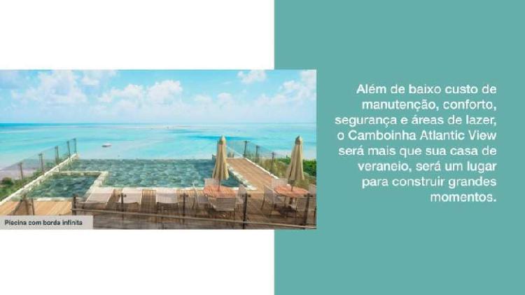 Apartamento em Camboinha com 3 quartos Vista para Mar