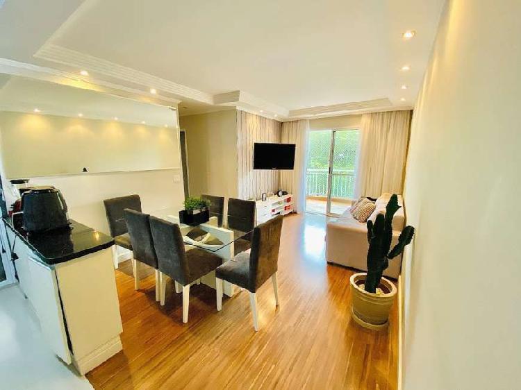 Apartamento mobiliado para venda de 73 m com 3 quartos, 1