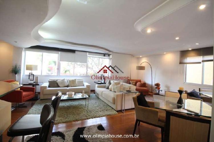 Apartamento à venda com 180m² - itaim bibi, são paulo.