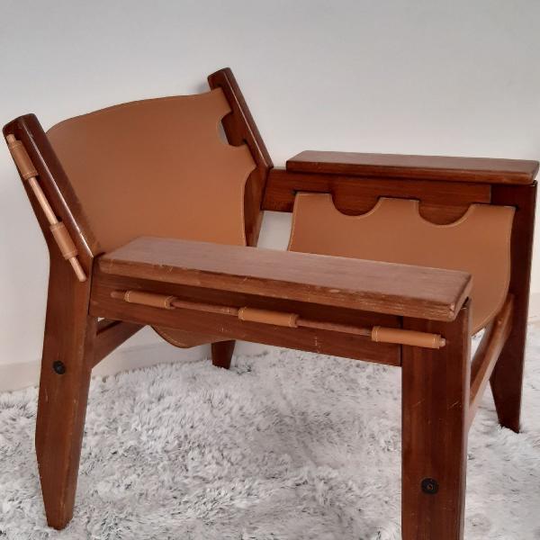 Cadeira de design kilin sérgio rodrigues antiguidade