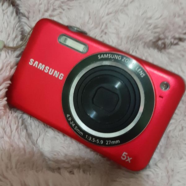 Camera digital samsung es80 12.0 mp vermelha
