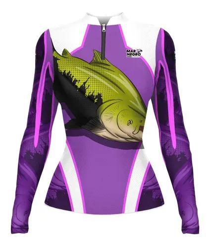 Camisa de pesca mar negro f