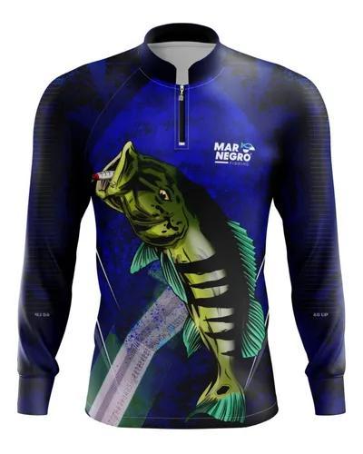 Camisa pesca com proteção solar presente black friday