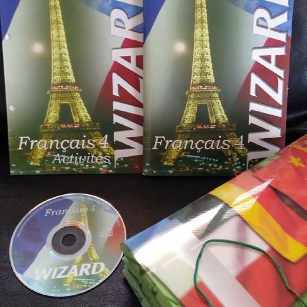 Francês wizard ( 4 volumes)