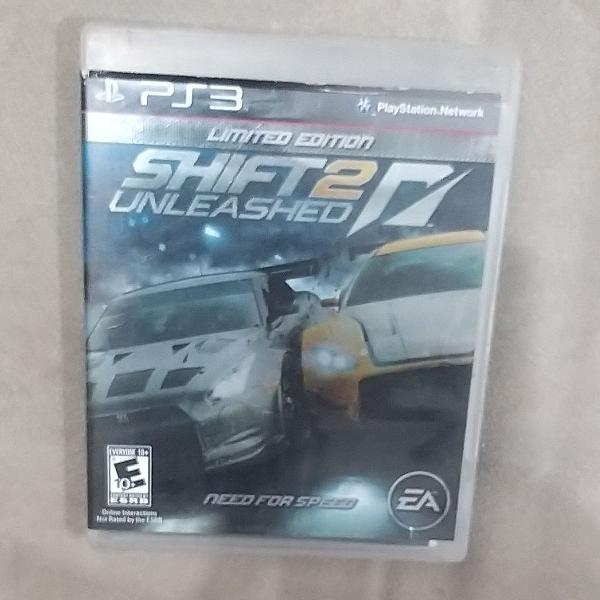 Jogo shift 2 unleashed - ps3, um dos melhores jogos do game.
