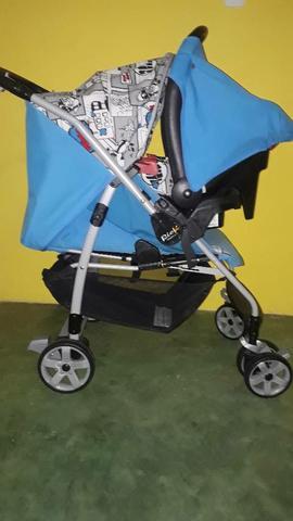 Kit burigotto carrinho mais bebe conforto burigotto Rio k