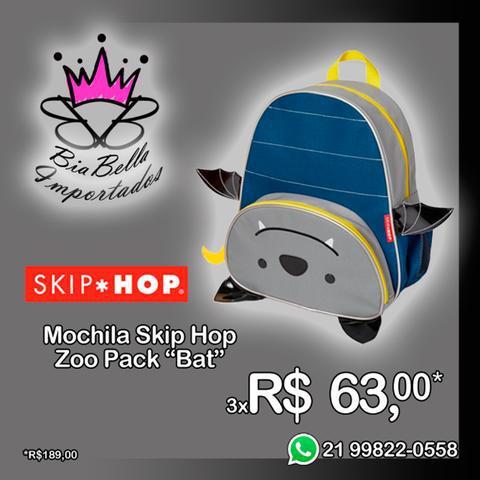 """Mochila skip hop 12"""" zoo pack """"bat"""""""