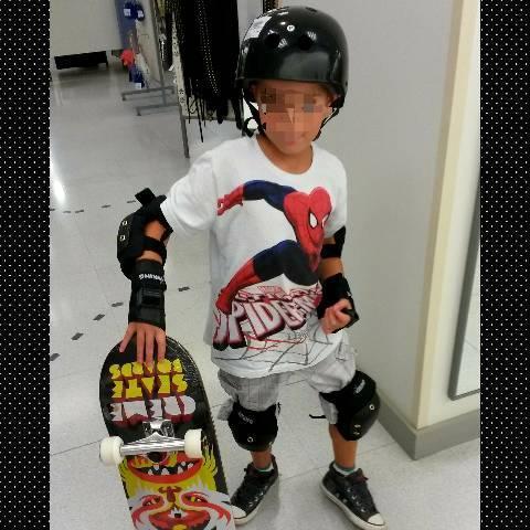 Proteção skate infantil